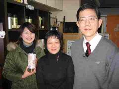 レポーターの福村千明さんと